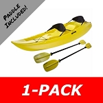 Manta Kayak 90118 Sit-On-Top Kayaks 10 ft. Yellow Water Craft