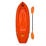 Lifetime Youth Sit On Top Kayak Wave 60 90154 Orange With Paddle