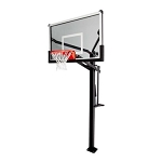 Mammoth Basketball Goals - 90180 60-inch Glass Backboard System