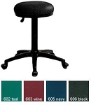 OFM Office Stool 902-V Vinyl Adjustable Height Portable Stool