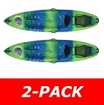Lifetime Emotion Kayak Temptation Blue/Green 90452 2 Pack