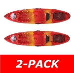 Lifetime Emotion Kayak Temptation Red/Yellow 90454 10-ft 3-in 2 Pack