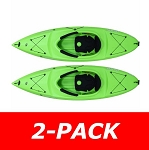 Lifetime Emotion Kayak 90526 Darter 9-Ft Lime Green 2 Pack
