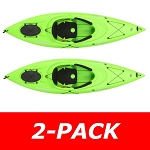 Lifetime Emotion Kayak 90527 10-Ft Guster Lime Green 2 Pack