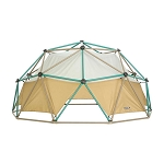 Lifetime 90612 Jungle Gym Dome Climber (Earthtone w/canopy)