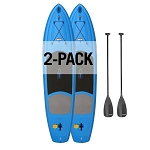 Lifetime 90657 Amped 132 Paddleboards 2 Pack 11-Ft Blue Color