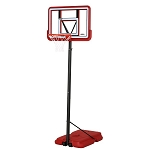 Lifetime Portable Basketball System 90689 Pro Court 44-inch Backboard Red Base