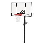 Lifetime In-Ground Basketball Hoop 90698 54-inch ShatterGuard Backboard Adjustable Height