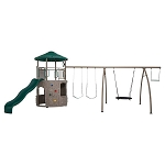 Lifetime Adventure Tower Play Set 90804 With Spider Swing