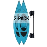 Lifetime Payette Sit-Inside Kayaks 116-inch Glacier Blue 2 Pack