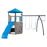 Lifetime Adventure Tower Basic (Blue and Bronze) 90918 Play Set