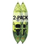 Lifetime Tamarack Angler 100 Fishing Kayak Krypton Fusion 2 Pack