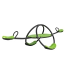 Lifetime 90993 Oval 4 Kid Capacity Mantis Green/Bronze Color Teeter Totter