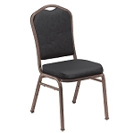 Stacking Chairs - National Public Seating Crown Back Chairs 40 Pack