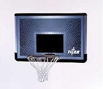 SO Lifetime 93630 Titan Goal 46 In Basketball Backboard Rim Goal Combo