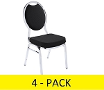 NPS Stacking Chair 9500 4 Pack