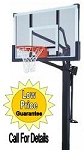 Mammoth Basketball System 98854 54-inch Glass Backboard Goal