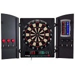 Bullshooter CMX1000 Cricket Maxx 1.0 Electronic Dartboard and Cabinet