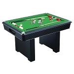 Renegade NG2404PG 54-In Slate Bumper Pool Table for Family Game Rooms with Green Felt