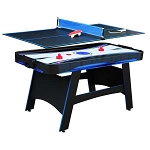 Bandit NG5029 5-ft 2-in-1 Air Hockey and Table Tennis Table
