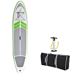 Manta Ray 12-ft Inflatable Stand Up Paddleboard w/ Hand Pump