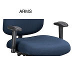 Ofm Aa-6 Adjustable Heavy Duty Arm Kit For 700 Chair