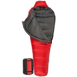 TETON Sports 1150 Red ALTOS -10F UltraLight Down Sleeping Bag