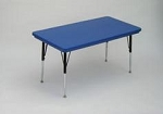 Children's Activity Table - Correll Ar3060 Plastic Table Furniture