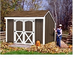 Best Barns Aspen 8ftx10ft Wooden Shed Barn Kit