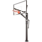 Goalrilla In-Ground Basketball Goal B3017W FT72 72-inch Glass Backboard