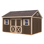 Brookfield 12x16 ft Best Barns Wood Shed Barn Kit