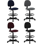 Drafting Stools - BT-659 Ergonomic Drafting Stool With Adjustable Seat
