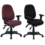 Computer Office Chairs BT-662-GG Mid-Back Swivel Multi-Function Chair