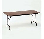 Melamine Top Folding Tables Correll CF3072M-01 30x72-In Folding Table