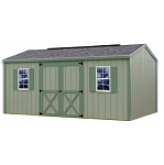 Cypress 10' Best Barns Wood Shed Kit in 10x12 and 10x16