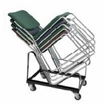 Dy-86 Rolling Storage Dolly For #8600 Series Chairs