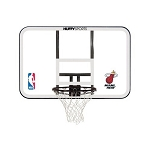 Spalding Basketball Backboard and Rim Combo E79Mias Miami Heat