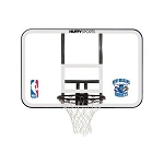 Spalding Basketball Backboard and Rim Combo E79Orls Orlando Magic Logo