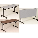 School Tables Adjustable Height Flip Top Table FT2448M 24 x 48-in Top