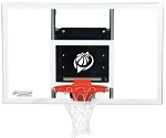 Goalsetter Acrylic Wall-Mount Baseline Basketball Hoop GS54