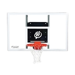 Goalsetter Base Line Wall-Mount Basketball Hoop GS60 60 In Glass