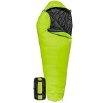 TETON Sports 1132 Green LEEF +20 F UltraLight Sleeping Bag w/ Body Mapping