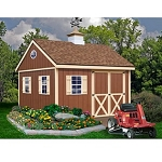 Mansfield 12'x12' Best Barns Wood Shed Barn Kit