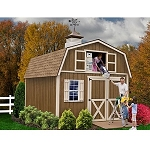 Best Barns Millcreek 12x16 Wood Shed Barn Kit