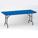 R2448-C Correll Folding Tables Heavy-Duty Tables 24 x 48 Color Table