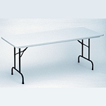 Correll Folding Table Heavy-Duty R3072 30 In x 72 In Table Top