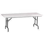 Correll Folding Tables Heavy-Duty Blow-Molded R3096 30 x 96 Table