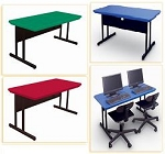 Computer Table - Correll RWS2448 Classroom Desk Work Station