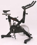 SO Makoto Commercial Black Upright Indoor Cycling Bike