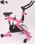 SO Makoto Commercial Pink Upright Indoor Cycling Bike